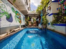 Hostelito Hotel Hostal, hotel in Cozumel