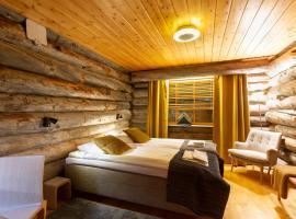 Log House Kuukkeli Teerenpesä, guesthouse Saariselällä