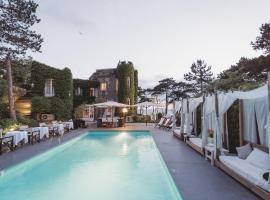 Domaine Saint Clair - Le Donjon, accessible hotel in Étretat