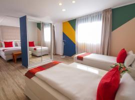 Paamonim Hotel Jerusalem, отель в Иерусалиме