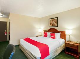 OYO Hotel Spokane North, hotel in Spokane