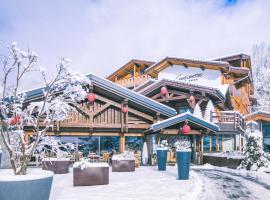 Les Gentianettes Hotel & Spa, hôtel à La Chapelle-d'Abondance près de: Evian Resort Golf Club