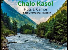 Chalo Kasol camps and cottage, luxury tent in Kasol