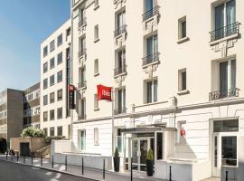 ibis Paris Boulogne Billancourt, hotel near Porte de Saint-Cloud Metro Station, Boulogne-Billancourt