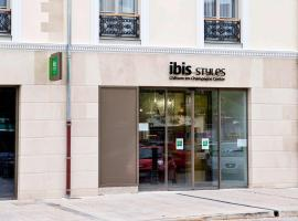 ibis Styles Chalons en Champagne Centre, hotel in Chalons en Champagne