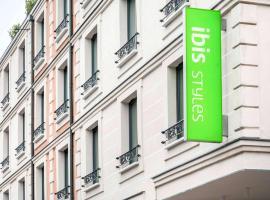 ibis Styles Clamart Gare Grand Paris, hotel near Mairie d'Issy Metro Station, Clamart