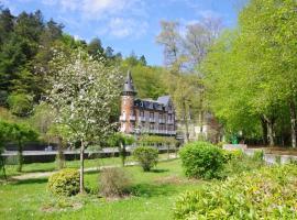Hôtel Spa Le Roc Au Chien、バニョール・ドゥ・ロルヌのホテル