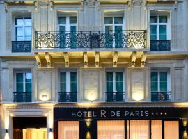 Hôtel R de Paris - Boutique Hotel, hotel in 9th arr., Paris