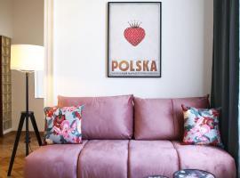 Classic apartments Pilsudskiego street, hotel in Krakow