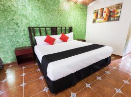 Hotel Hacienda Tonalmain, hôtel à Guadalajara près de: Aéroport international de Guadalajara - GDL