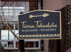 Tierra Tehuelche Hostería y Aparts, hostería en El Calafate