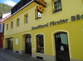Ferienwohnung Bäckerei Förster, apartment in Bad Schandau