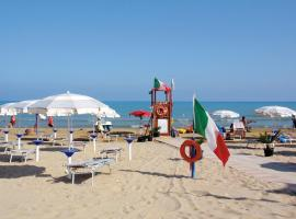 Victoria mobilehome in camping Stella del Sud, glamping site in Foce Varano