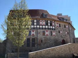 Burghotel Scharfenstein, hotel i Leinefelde