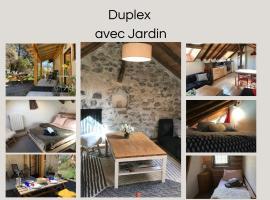 Appartement Duplex avec Jardin Attenant, apartment in Briançon