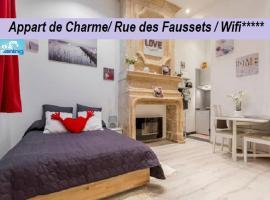 Appart de Charme / Rue Des Faussets, hotel near Grand Théâtre de Bordeaux, Bordeaux