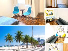 Dzīvoklis Luevi Apart Copacabana Riodežaneiro