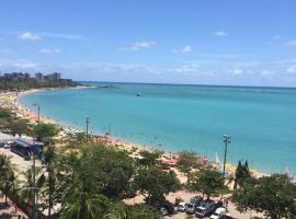 Apto 901 - Dois quartos à beira na praia de Pajuçara, accessible hotel in Maceió