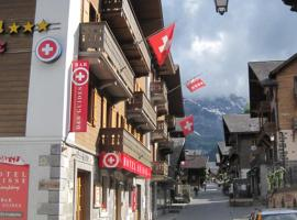 Hotel Suisse, hotel near Sainte Chapelle Chairlift, Champéry