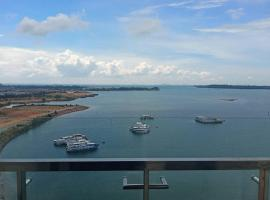 New! One Residences Condo Apt for 5pax, Beside Ferry Terminal