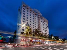 Lavande Hotel Haikou Hainan University, отель в Хайкоу