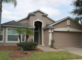 Vibrant Vacation 4Be/3Bath Villa with Private Pool, hotel in Davenport