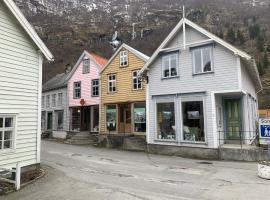 Old town boutiqe apartments/ Gamle Lærdalsøyri boutique leiligheter, hotell på Lærdalsøyri