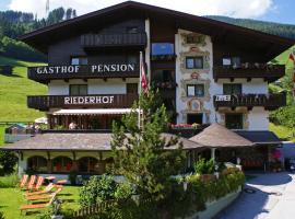 Hotel Gasthof Riederhof, hotel in Gerlos