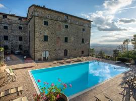 Villa Schiatti, hotell i Cortona