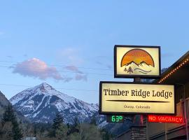Timber Ridge Lodge Ouray, motel in Ouray