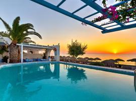 Sigalas Beach Hotel, hotel in zona Spiaggia di Monolithos, Kamari