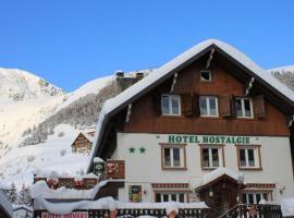 Hotel Nostalgie, hôtel à Les Deux Alpes