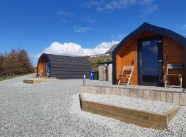 Loch Caroy Pods, cabin in Ose