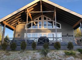 New big cabin with a stunning view, hotell i Torsby