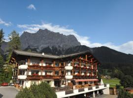 Alpenappartements Cristall, spa hotel in Ehrwald