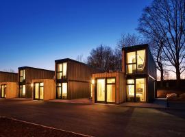 Modern ausgebauter Überseecontainer als Tiny House, Ferienwohnung in Wertheim