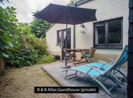 B&B Atlas Private Guesthouse, hôtel à Bruges