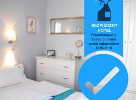 Hotel Amber Suite Enklawa dla Dorosłych, hotel in Międzywodzie