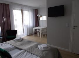 Kwartał Róży Wiatrów Apartament 27, apartment in Świnoujście