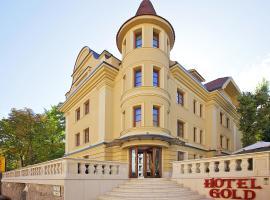 Gold Hotel Budapest, готель біля визначного місця Цитадель, у Будапешті