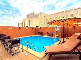Al Liwan Suites Rawdat Al Khail، فندق بالقرب من مركز تسوق فيلاجيو، الدوحة