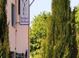Hotel Köln-Bonn, hotel near Palaces Augustusburg and Falkenlust, Bornheim