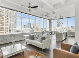 Legendary Scenic Downtown SUPERBOWL Sky Castle, vacation rental in Atlanta