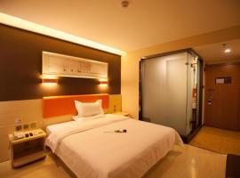7Days Premium Zhoushuizi Airport Wal-Mart, hotel in Dalian