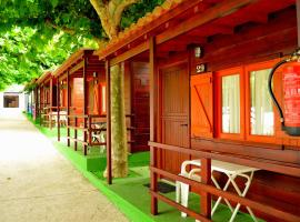 Camping Playa Canelas, hotel with pools in Portonovo