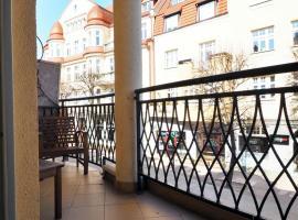Monte Cassino, 3 Gracje, Balkon, apartment in Sopot