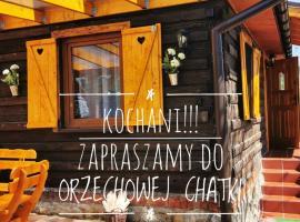 Sielanówek - Orzechowa Chatka z sauną – hotel w Żywcu