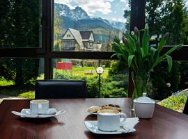 Hyrny, hotel with jacuzzis in Zakopane