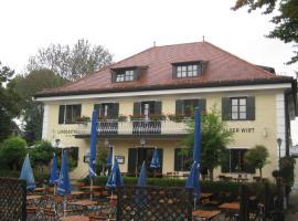 Landgasthof Hotel Alter Wirt, hotel in Unterschleißheim