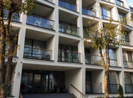 Kavyno apartamentai, apartamentai mieste Palanga